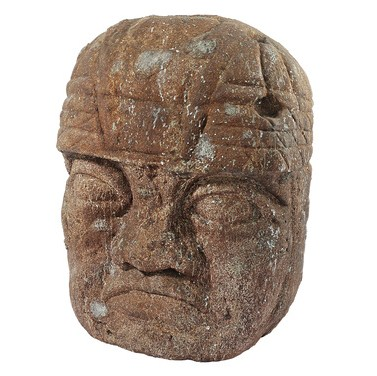 Grand Megalithic Olmec Head
