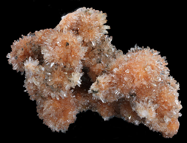 Orange Creedit Crystal Clusters