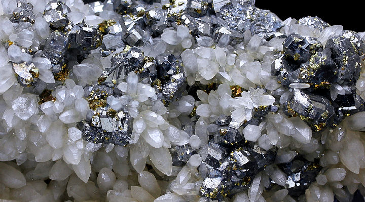Bournonite Chlcopyrite & Quartz