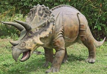 Triceratops Dinosaur Sculpture
