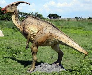 Parasaurolopus Dinosaur Sculpture